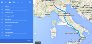 Estate 2015 - La CALABRIA in camper: itinerario di viaggio