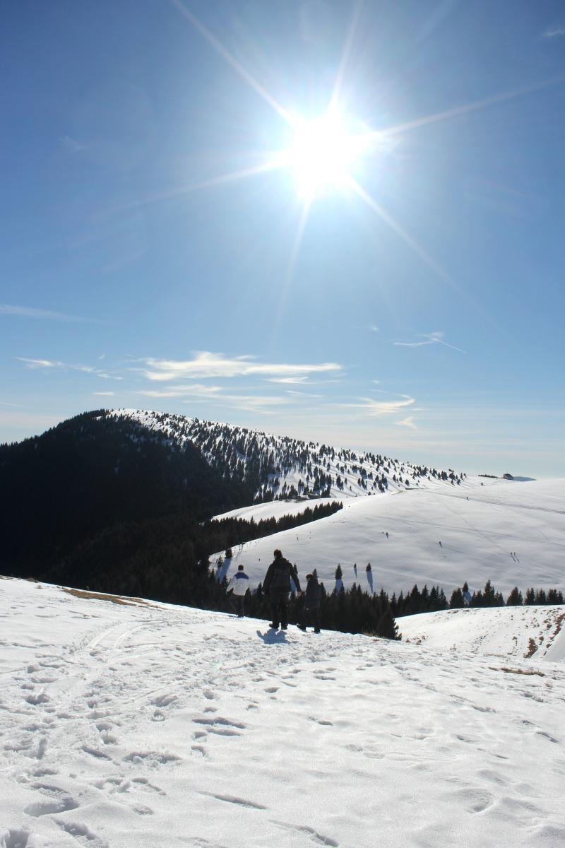 In camper sulla neve! Sciare è possibile